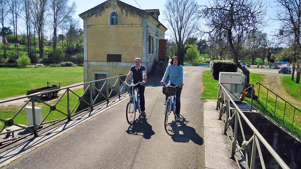 Location de vélo avec Aquitaine Navigation