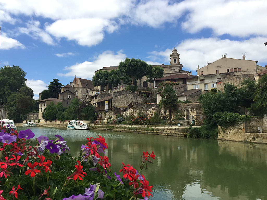 Le beau village de Nérac