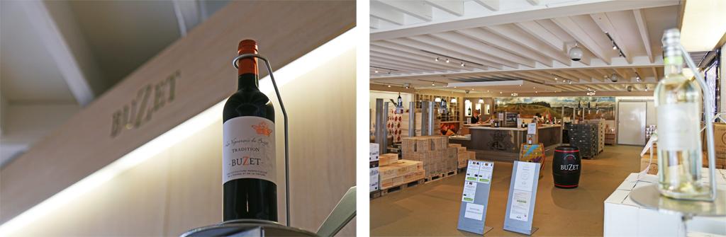 La boutique à Buzet-sur-Baïse