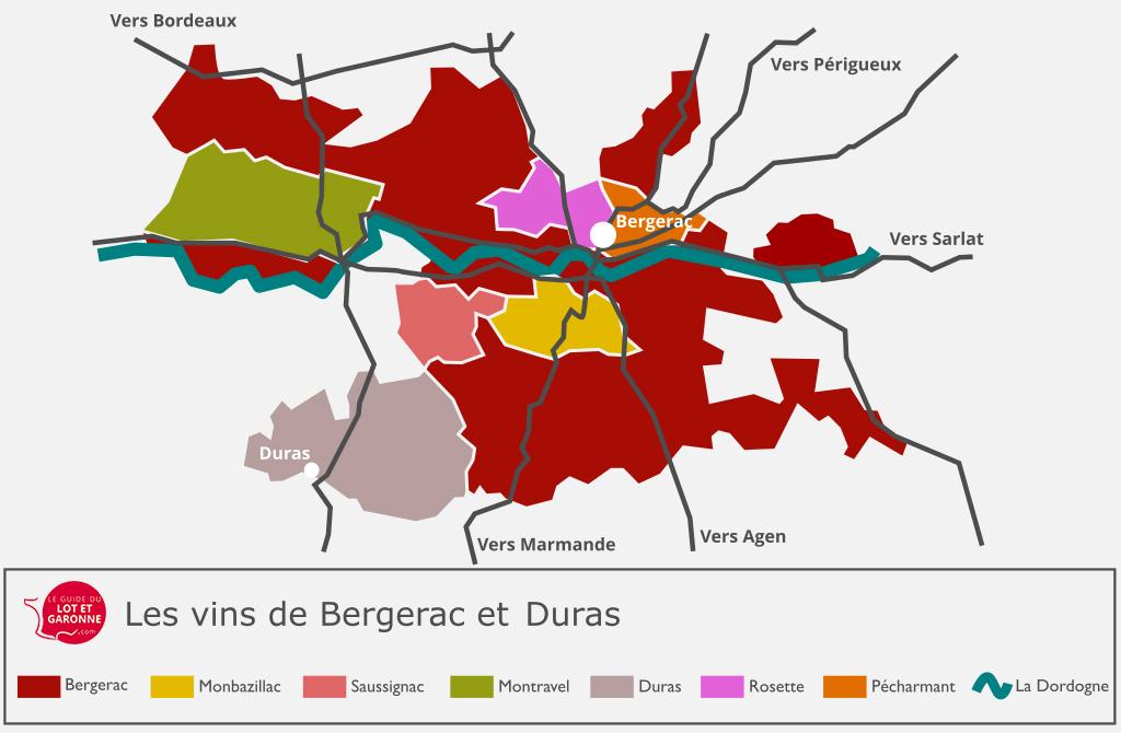 Vins de Bergerac et Duras