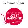 Selectionné par le Guide du Lot et Garonne